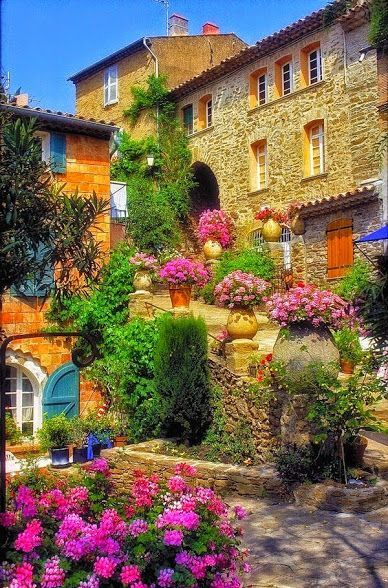Terrace Garden, Bormes Les Mimosas, France U2013 Amazing Pictures   Amazing  Travel Pictures With Maps For All Around The World Part 95