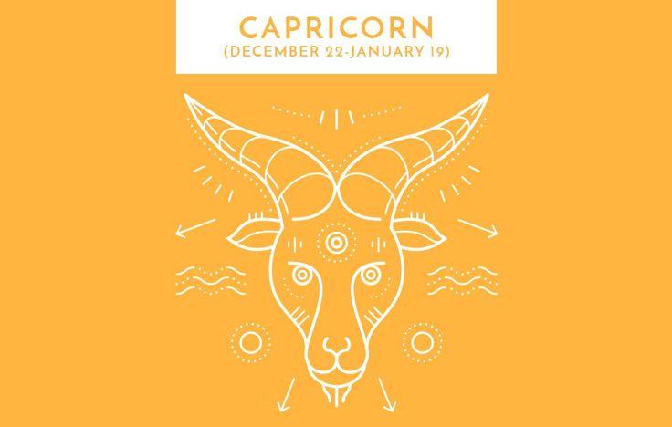 CAPRICORN (DECEMBER 22–JANUARY 19) https://www.womenshealthmag.com/life/october-2017-horoscope/slide/10