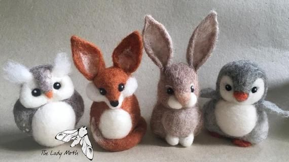 Needle Felting Worksop With The Lady Moth Make Your Own Bunny Suitable For Beginners And Imp Needle Felting Projects Needle Felted Animals Needle Felted Fox