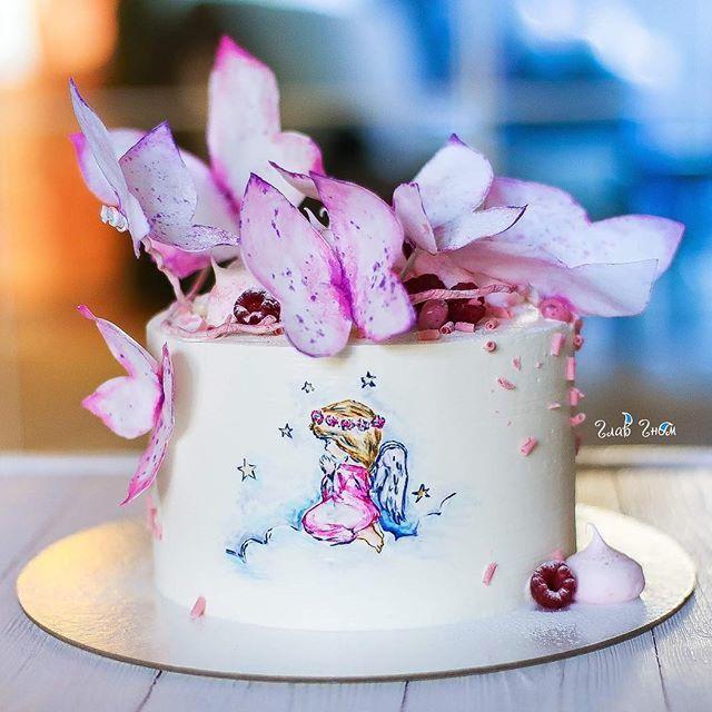 Полетели бабочки на крещение малышки 🦋💕 #glavgnom #glavgnom_cake #тортназаказмосква #тортбезмастики dessert #desserts #food #foods #sweet #sweets #yum #mmm #hungry #dessertporn #cake #foodgasm #foodporn #delicious #foodforfoodies #instafood #yumyum #sweettooth #chocolate #icecream #soyummy #getinmybelly #tagstagrame #beautiful