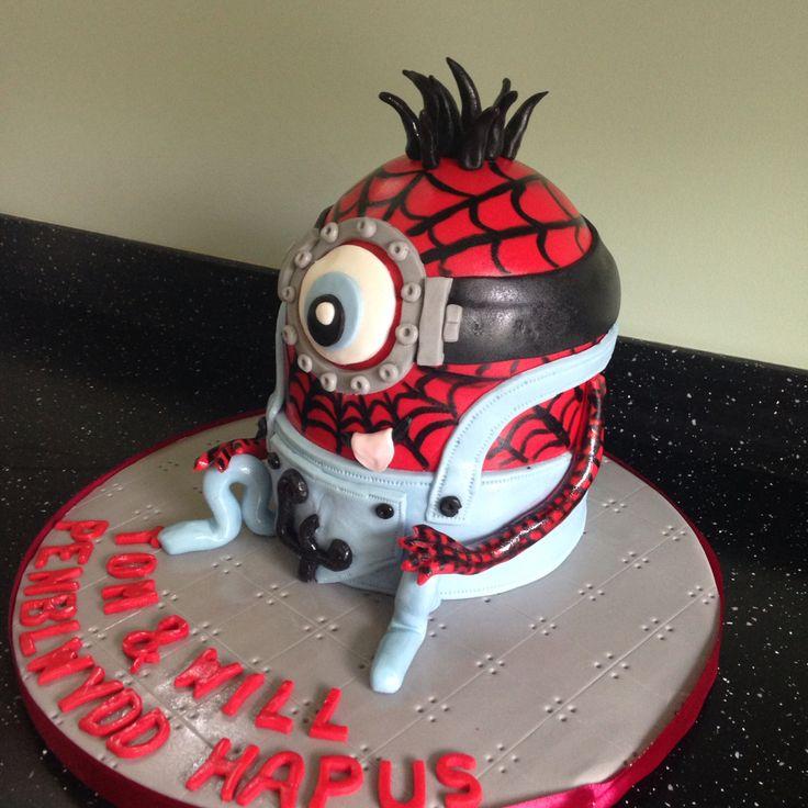Minion/Spider-Man mash up!!