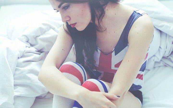 Girl England Uk Sadness Mood