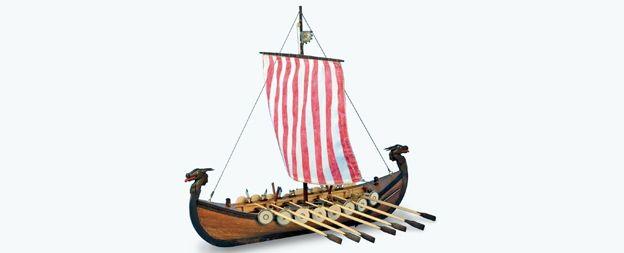 VIKING - Maqueta de barco en madera | Wooden Model Ship. Descubre nuestra réplica de uno de los barcos más famosos de Gokstad del siglo X, tripulada por remeros y propulsada por velas. Con el barco Viking revivirás las hazañas de estos valientes guerreros. // Discover our replica of one of the most famous Viking ships from the 10th century, manned by oarsmen and sails. Built the wooden model Viking ship and experience the adventures of these brave warriors.