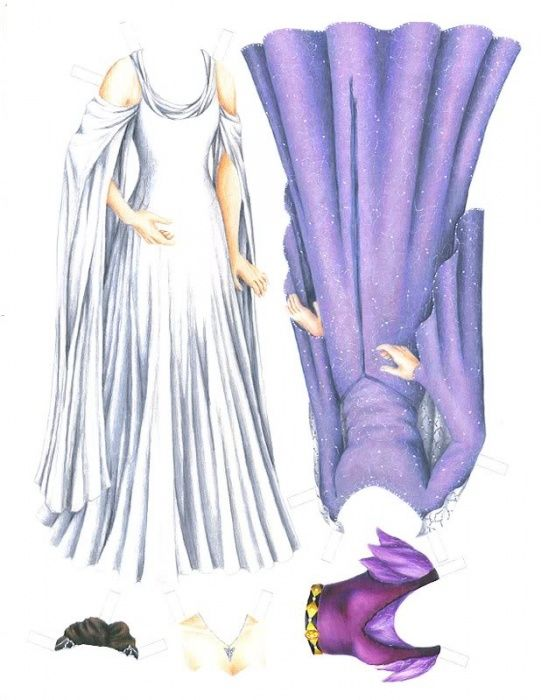 Arwen1 * 1500 free paper dolls at Arielle Gabriels The International Paper Doll Society also free paper dolls The China Adventures of Arielle Gabriel *