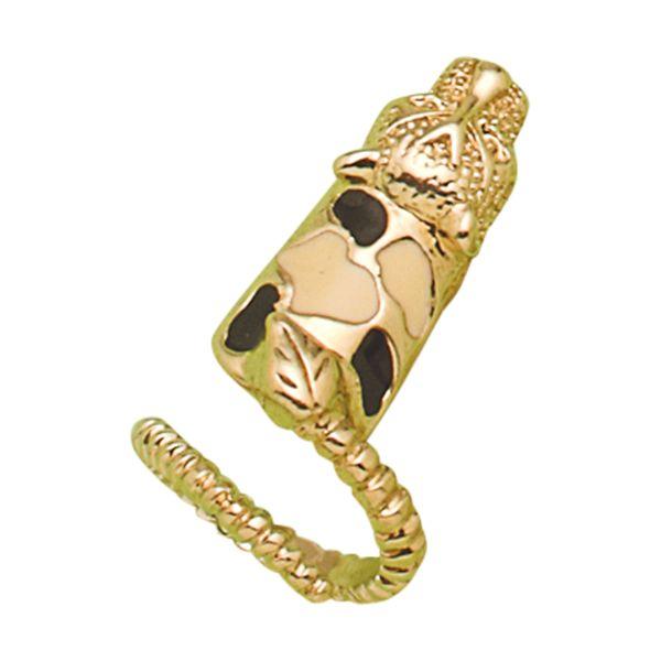 Anillo dedo con forma de uña y tigre.  www.cristianlay.com