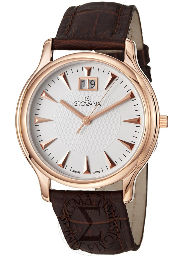 Price:$297.50 #watches Grovana 1030.1562, Grovana is a firm that has made a name for itself in the Swiss watch making industry through innovation and flexibility. Up to the 1970s it made mechanical watches that were always state of the art.