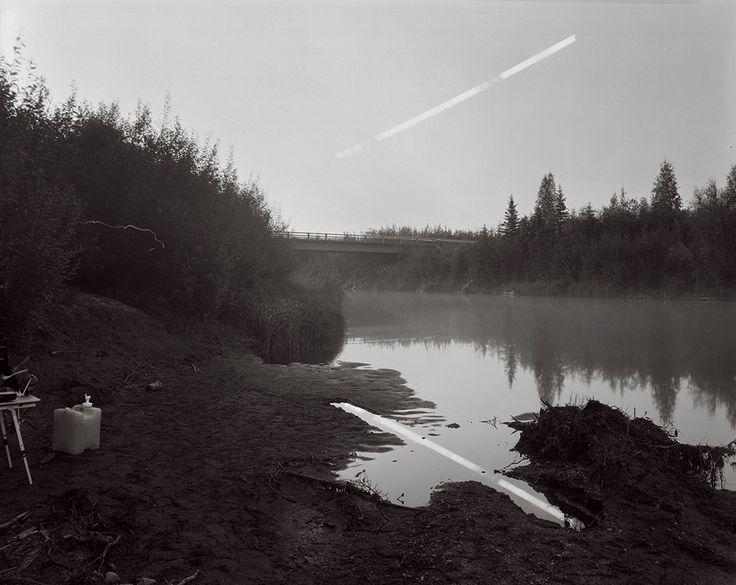 Sapling Moonset, Squirrel Creek, Alaska © David Shannon-Lier, 1st place, series, LensCulture Exposure Awards 2015. © David Shannon-Lier