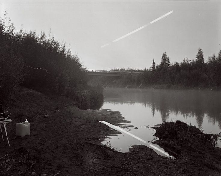 Sapling Moonset, Squirrel Creek, Alaska © David Shannon-Lier, 1st place, series, LensCulture Exposure Awards 2015. © David Shannon-Lier