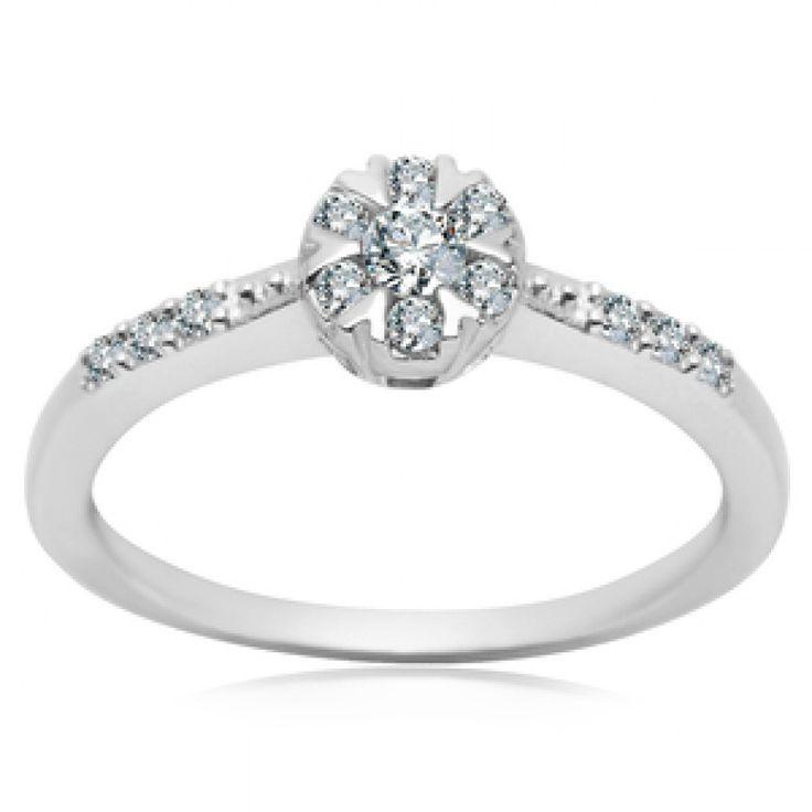 Srebrny pierścionek (APCH115 - 53973) - YES