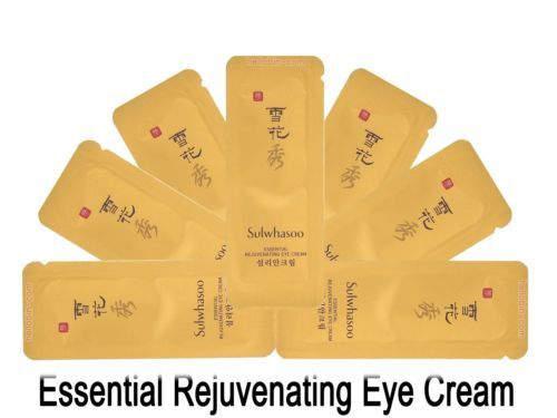 Sulwhasoo Rejuvenating Eye Cream Amore Pacific New Korean Cosmetics 20~60pcs ☆★