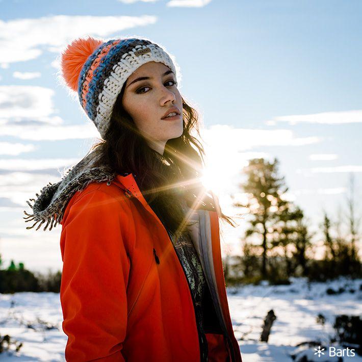 Frostschutz! Mützen von Barts #Barts #Damen #Accessoires #Wollmuetze #Bommel
