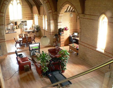 Attractive Renovated Church Home.