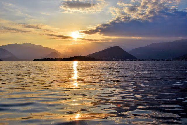 TATLOOK - dal cuore al cuore: Tramonto sul lago Maggiore