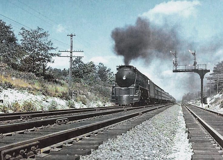 NSW Australian locomotive built in 1943 has its streamlining based on the New Haven I5 Hudson class, which sped through the New England region in the late 1930's.