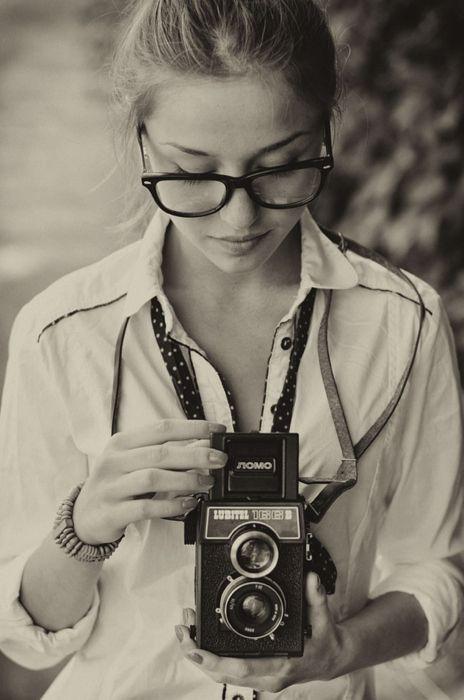 """500px / Photo """"Girl with Lubitel"""" by Krzysztof Marciniak"""