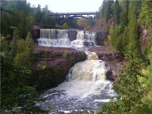 Up North, here in Minnesota - Gooseberry Falls, along Lake Superior, MN - a FAVORITE weekend getaway ~