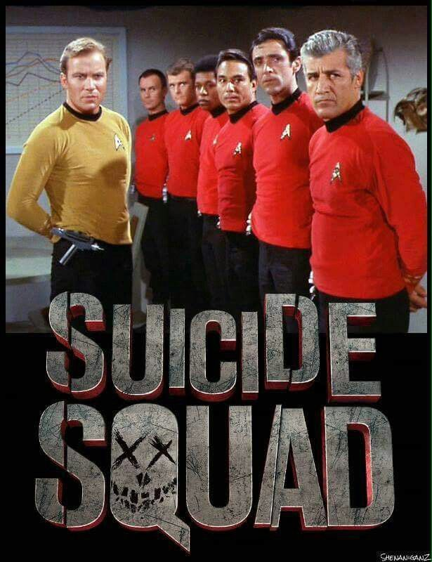 Star Trek: Red Shirts aka the Suicide Squad Xx
