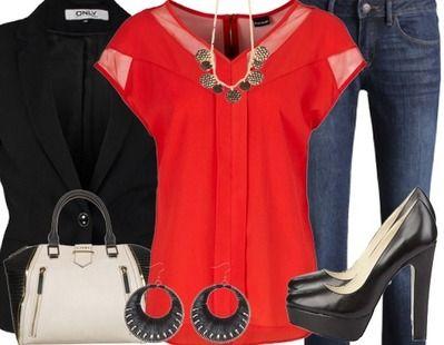 Une tenue classique mais chic! Pour celles qui préfèrent un dîner romantique plus décontracté! Cliquez-ici pour plus de détails: http://stylefru.it/s788835 #diner #tenue #décontracte #saintvalentin