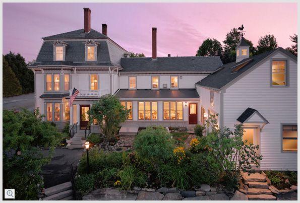 Hartstone Inn, Camden, Maine  cozy Inn with cooking school onsite