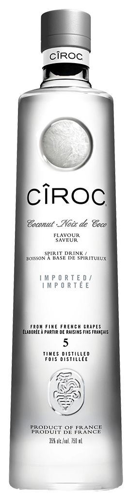 Ciroc Coconut Vodka - 16770   Manitoba Liquor Mart