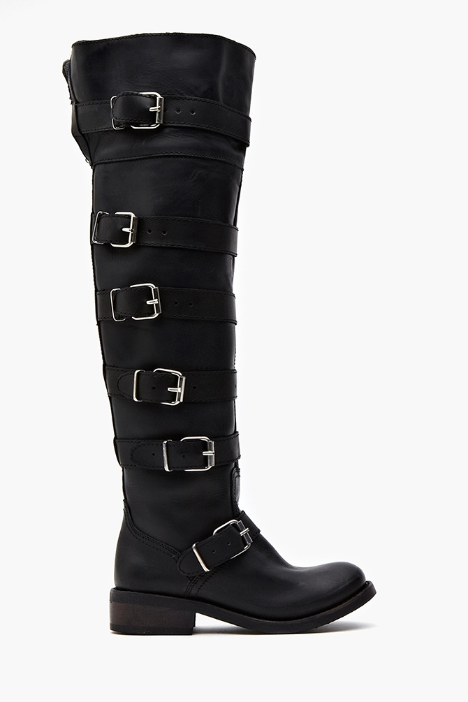 Posse Knee High Boots in Shoes Boots at Nasty Gal