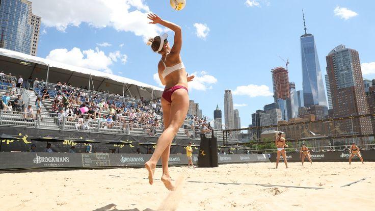 Watch April Ross Playing Beach Volleyball in Manhattan