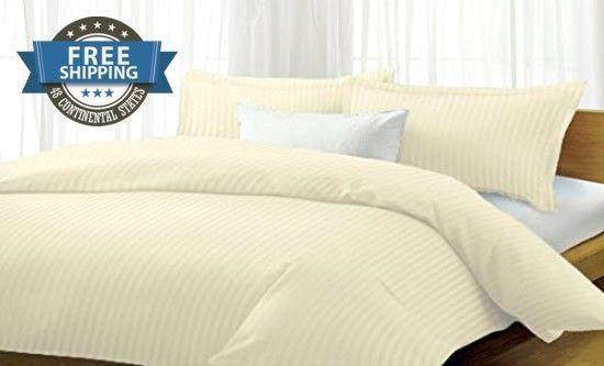 Bedding Set,Queen Size,Comforter Cover,Matching Sets Twin,4 Pc,Microfiber cream #MilleniumLinen