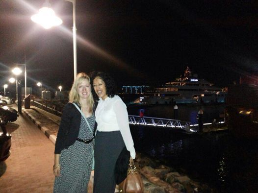 Two more of our lovely ex Guru girls Caitlin and Pinny meeting up last week (Feb 2014) in Dubai (20 years on from when they worked at our shop)...