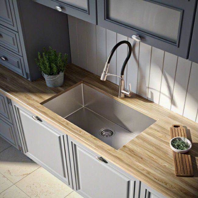 Stylish Stain Resistant Or Both Which Type Of Kitchen Sink Is