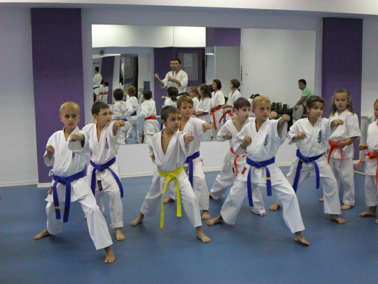 Antrenament karate