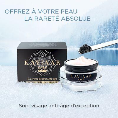 Testez la crème de jour anti-âge de Kaviaar Kare - Beauté-test.com