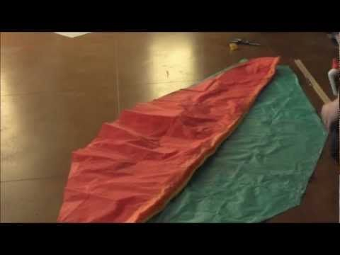 How To Make A Tissue Paper Hot Air Balloon- (Step by Step Progression) Chemistry Proj. - YouTube