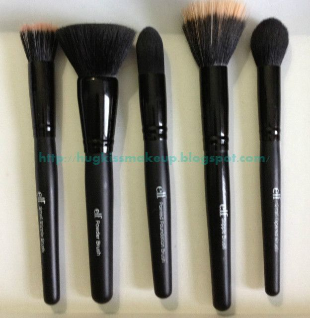 Best of ELF brushes and an explanation of what their uses are!