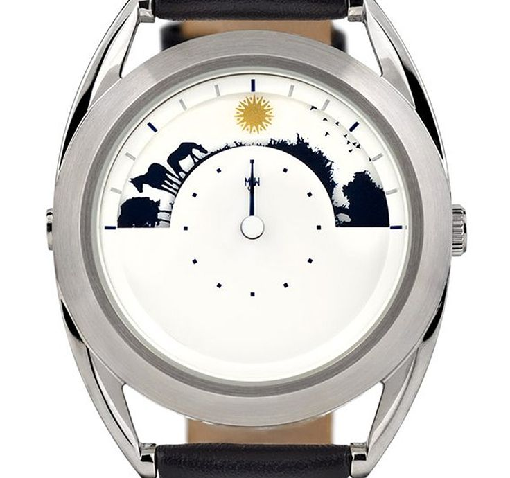 If It's Hip, It's Here: The New Limited Edition Sun and Moon Watch from Mr. Jones.