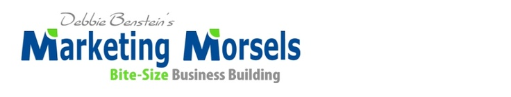 Deb Benstein's main blog - she is an awesome colleague, brilliant marketer and all around wondrous human bean!