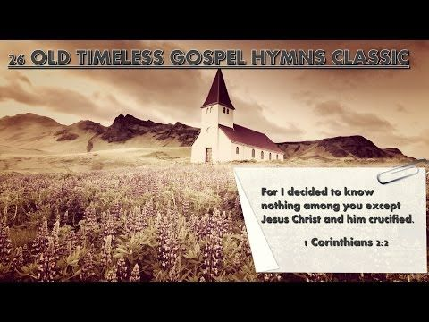 26 Old Timeless Gospel Hymns Classics - panflute Old rugged cross