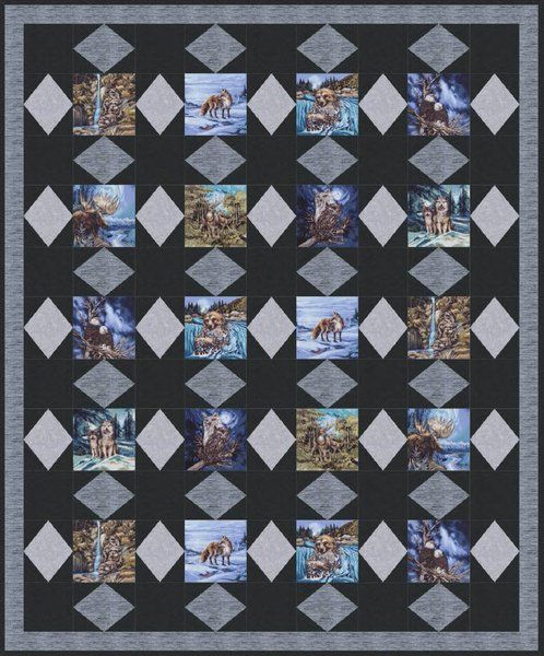 39 best images about wildlife quilts on Pinterest Quilt, Wildlife quilts and Wolves