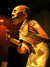 """Miztaltecuhtli Dios de la Muerte Azteca Esta imagen es la verdadera del culto de los Aztecas, se encuentra en el Museo Del Templo Mayor En Ciudad de México. (No tiene ninguna relación con la secta de la falsa religión que se hace llamar """" Santa Muerte"""") - Wikipedia, la enciclopedia libre"""