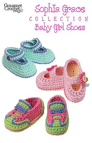 Sophia Grace Collection Baby Shoes pattern for sale