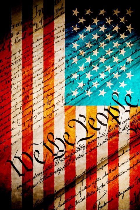 "We The People~ Notice it says ""We the People"". READ MORE ABOUT IT! http://constitutionus.com/"