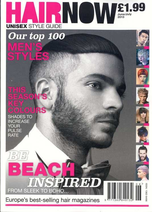 HOHB PRESS > BIG NEWS FOR HOHB'S Aiden Horwood! He has been published on the front cover of Europe's most popular hair magazine, Hair Now! THIS IS AMAZING! Congratulations, Aiden :) @hohb_aus
