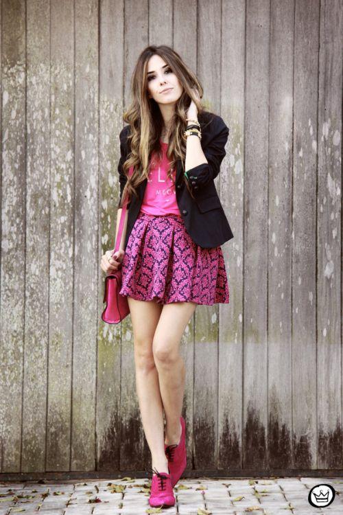 FashionCoolture - 24.06.2014 look du jour pink Carrano (1)
