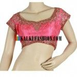 Indian saree blouse neck designs by Kalki fashion are something that is very popular all over the world. - See more at: http://newfashionvogue.com/saree-blouse-neck-designs-by-kalki-fashion http://newfashionvogue.com/saree-blouse-neck-designs-by-kalki-fashion/