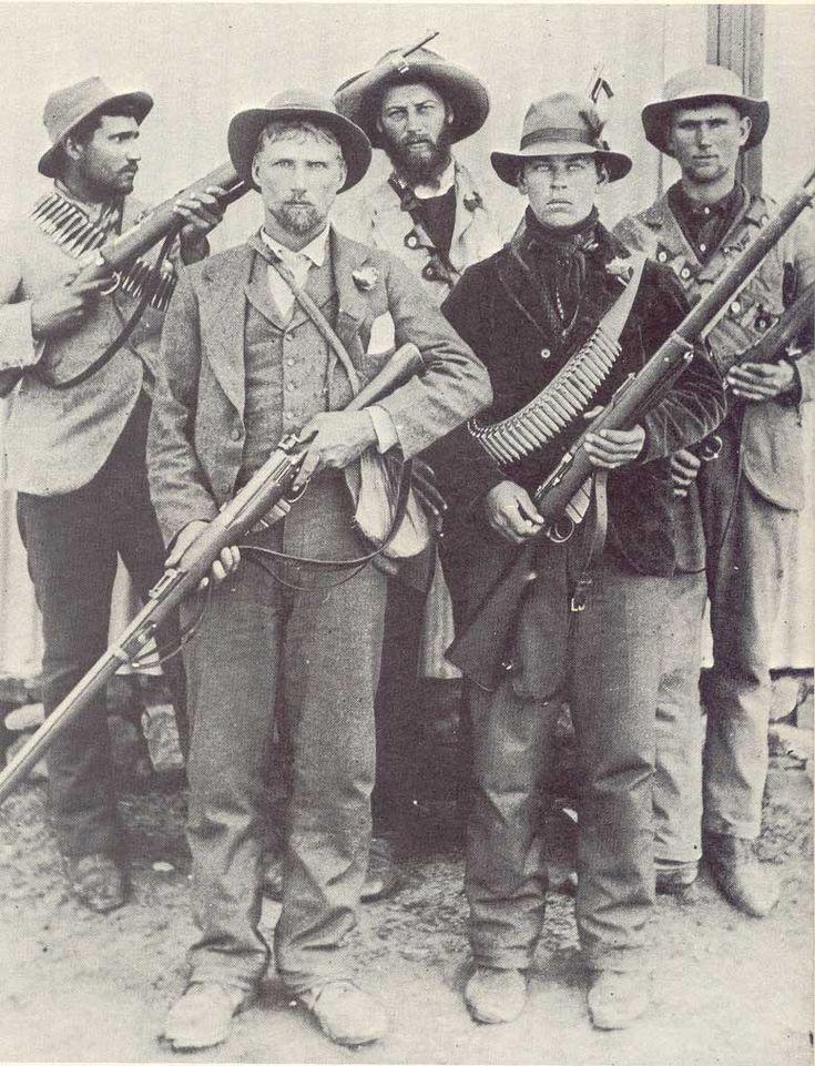 Boer guerillas during the Second Boer War 1899-1902