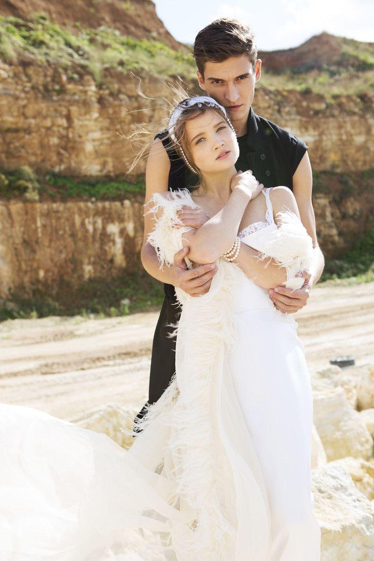 Матвей Лыков со своей партнершей по фильму«Он — дракон»Марией Поезжаевой