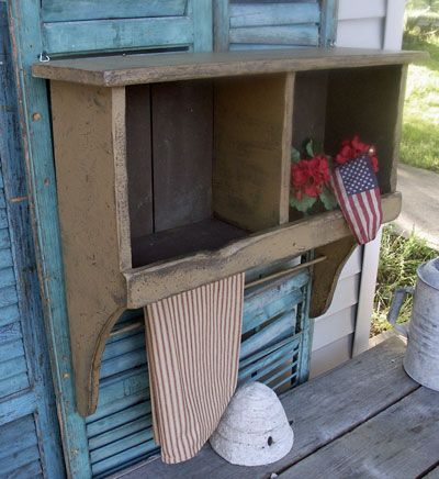 DIY Old Prairie Cubby Shelf Pattern http://www.patternmart.com/pattern/11305/Old+Prairie+Cubby+Shelf+Pattern+PM154