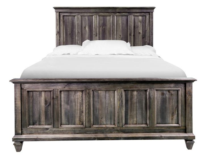king panel bed by magnussen furniture rusticly elegant