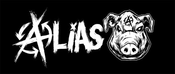 Artwork and typograph done for local band called Alias