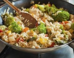 Risotto minceur aux poivrons et brocoli : http://www.fourchette-et-bikini.fr/recettes/recettes-minceur/risotto-minceur-aux-poivrons-et-brocoli.html