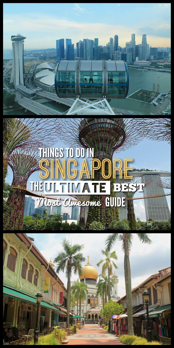 Almost all of the best things to do in Singapore, written by someone who lived there for two years!
